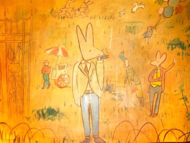 Joel kehle 39 s blog notes to myself for Bemelmans bar mural